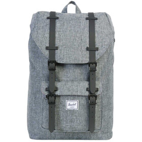 Herschel Little America Mid-Volume Sac à dos 17L, raven crosshatch